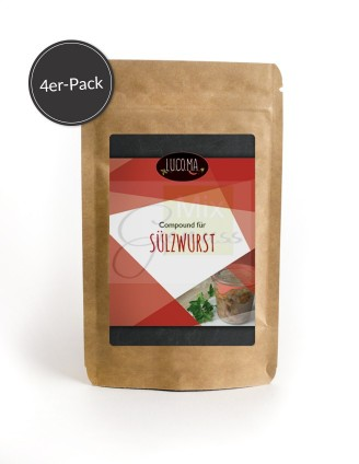 Sülzwurst - Compound 4er-Pack